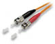 ST-ST Duplex MM US Made Fiber Patch Cable